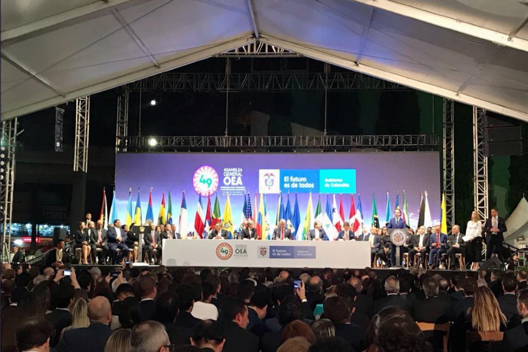Presidente reafirmará compromiso del Perú con la democracia ante comunidad internacional
