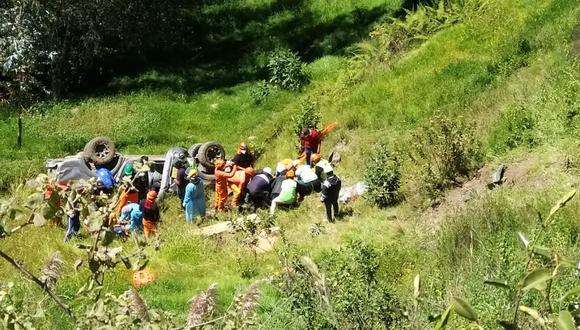 Candidato al Congreso por APP muere luego que camioneta en que viajaba cayó a abismo en Áncash