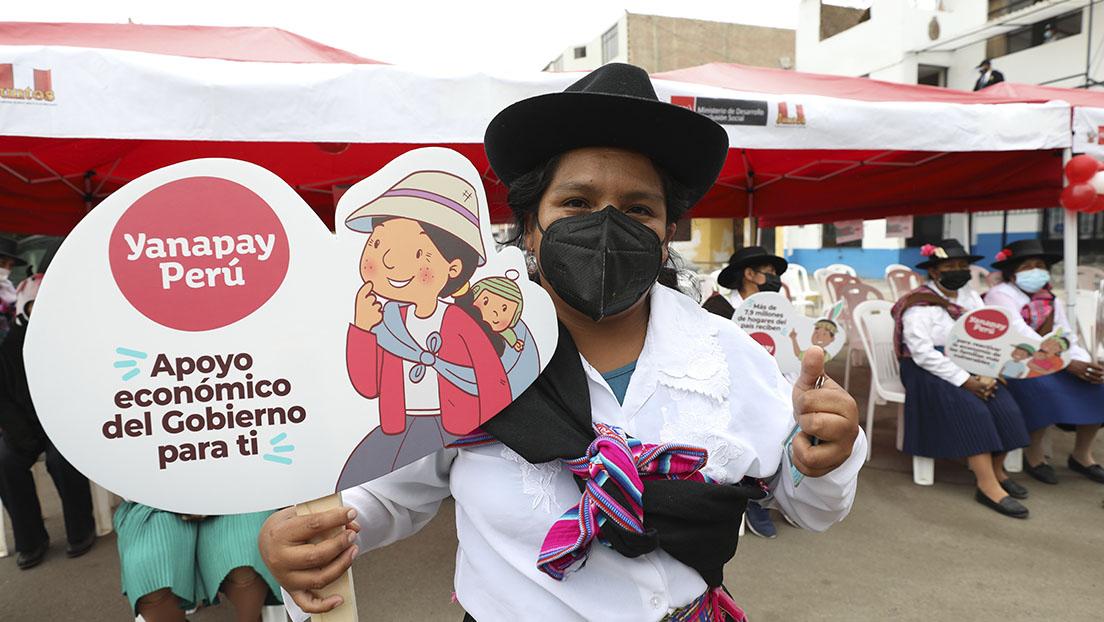 Más de dos millones de ciudadanos ya cobraron el apoyo Yanapay Perú