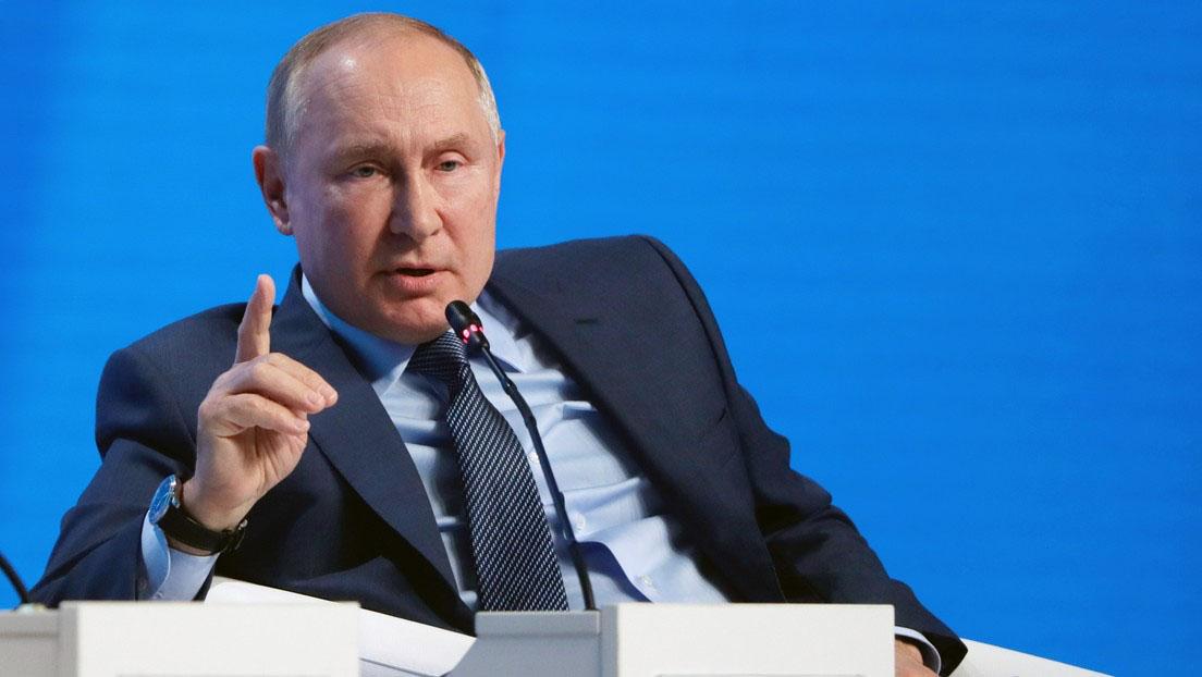 Putin: EE.UU. comete un gran error al utilizar el dólar como herramienta de sanción