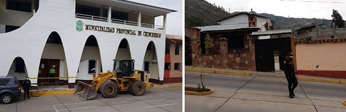 Fiscalía Anticorrupción de Andahuaylas interviene Municipalidad de Chincheros