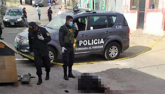 Arequipa: asesinan de un disparo a joven de 18 años
