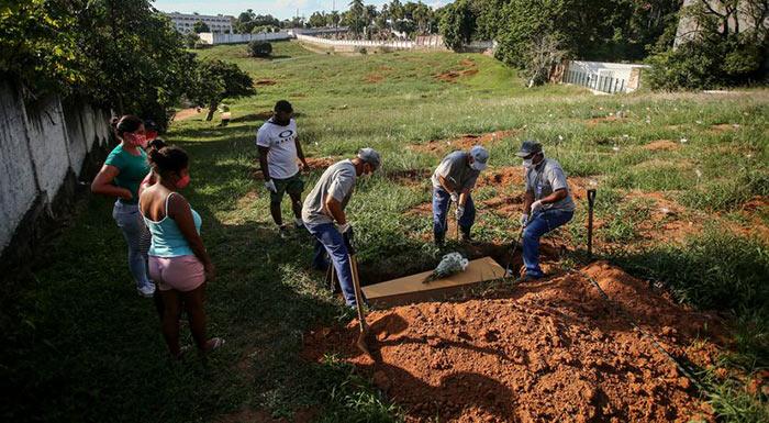 Brasil registra por primera vez más de 4.000 muertos por la covid-19 en las últimas 24 horas