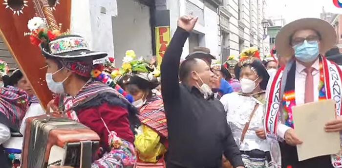 Huancavelica: comunidades campesinas piden su distritalización
