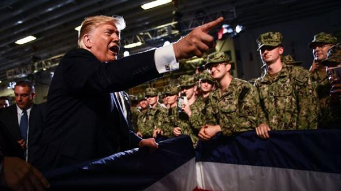 Donald Trump amenaza a Irán con un ataque