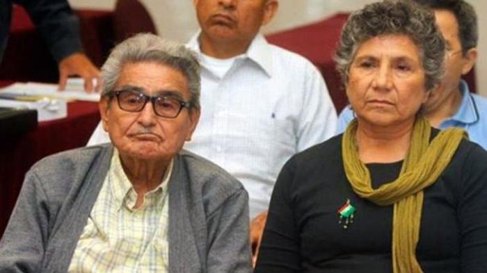 Fiscalía del Callao niega a Elena Iparraguirre la entrega del cuerpo del terrorista Abimael Guzmán