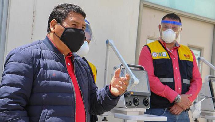 Ica: gobernador Javier Gallegos vence al coronavirus tras cumplir aislamiento domiciliario