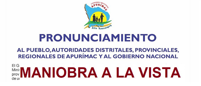 Autoridades y dirigentes de Cotabambas se reúnen en Challhuahuacho para garantizar presencia de Pedro Castillo