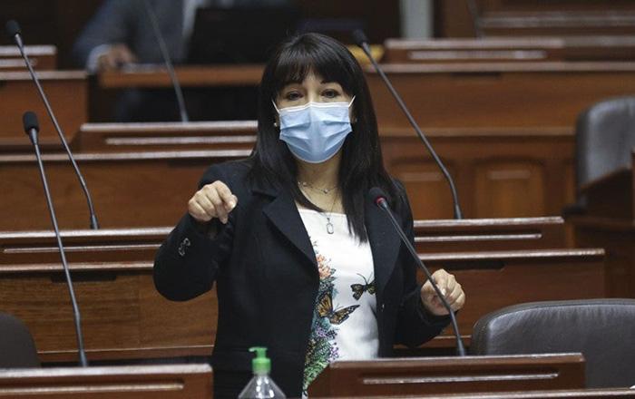 Mirtha Vásquez: Partido Morado condena campaña de acoso político contra la presidenta del Congreso