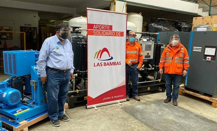 Planta de oxígeno donada por MMG Las Bambas al hospital GDV llega este 15 de septiembre a Abancay