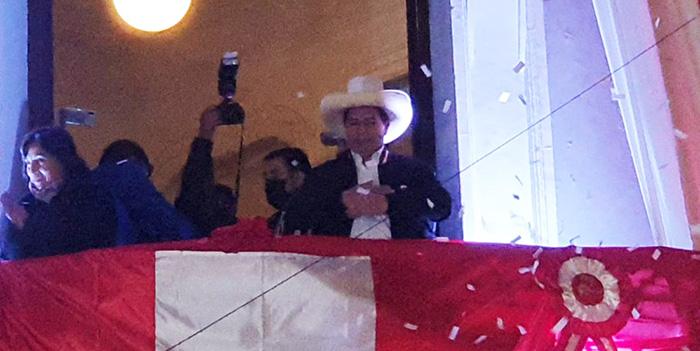 """Pedro Castillo da su primer mensaje como presidente electo: """"Llamo a la más amplia unidad"""""""