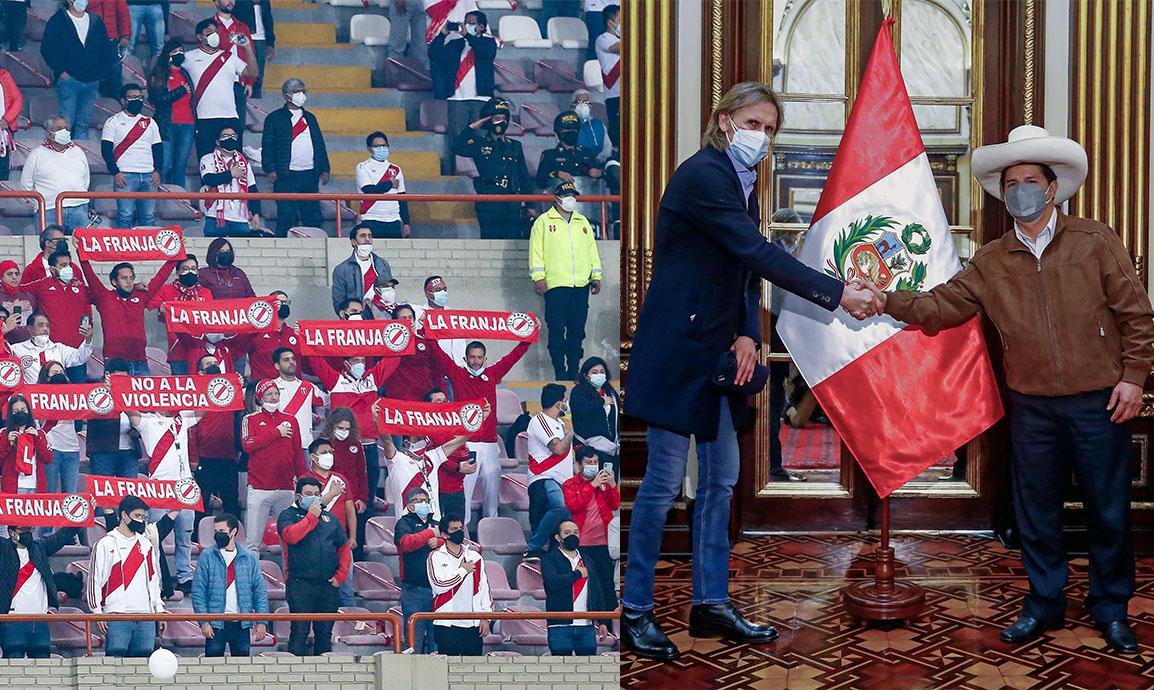 Pedro Castillo a selección peruana: Muchas gracias por esta alegría al pueblo