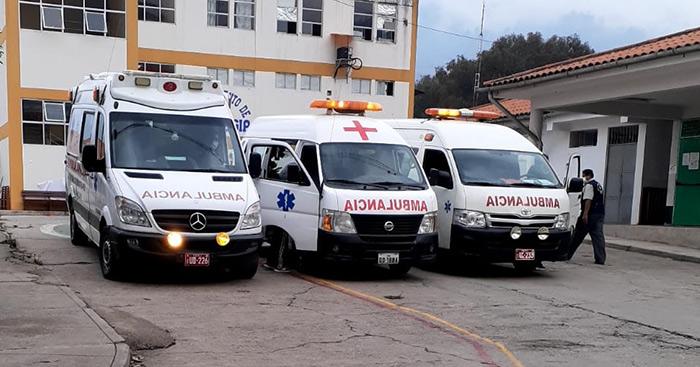 Cuatro comuneros quemados son trasladados a Andahuaylas para puente aéreo con Lima