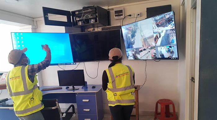 16 cámaras de vigilancia no funcionan en ciudad de Abancay y Tamburco