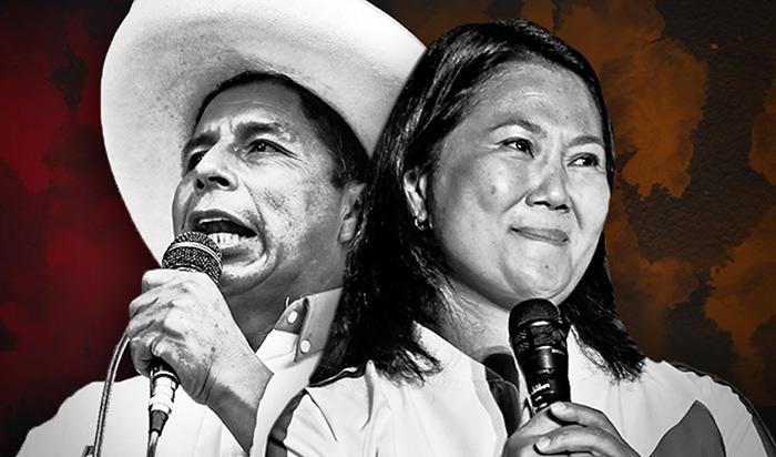 ONPE: Castillo supera a Fujimori por 79.279 votos, al 99,99% de actas procesadas