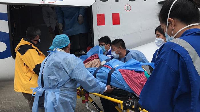 Comuneros de Abancay heridos en incendio forestal son atendidos en Lima