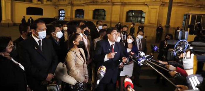 """Bancada de Perú Libre no respalda el gabinete de Mirtha Vásquez: """"es una traición"""""""