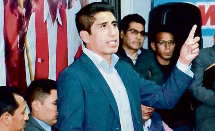 La Policía Nacional busca a dirigentes de Perú Libre