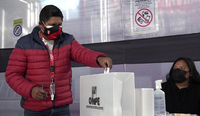 Perú Libre obtuvo el 81.47 % de respaldo frente al 18.52 % que logró Fuerza Popular en Apurímac
