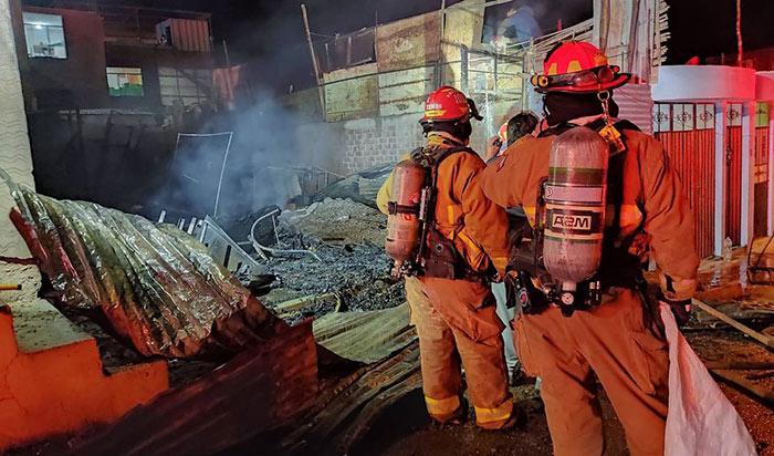 Moquegua: familia lo perdió todo en incendio ocurrido el sábado