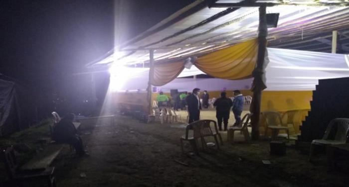 Policía Nacional interviene fiesta de cumpleaños en Andahuaylas