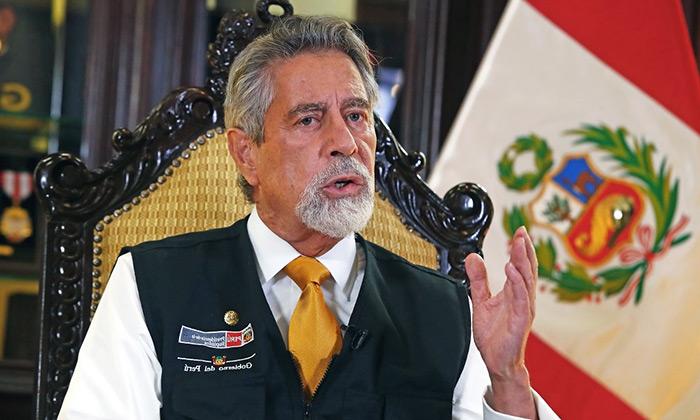 Sagasti expresa preocupación por reformas constitucionales