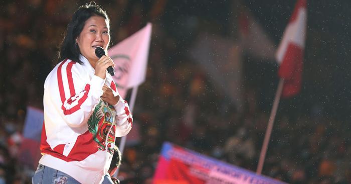 Keiko Fujimori: aún falta la evaluación de las actas pendientes que tiene el JNE