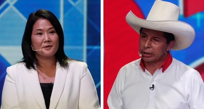 Pedro Castillo se mantiene por encima de Keiko Fujimori, al 98,35% de actas procesadas ONPE