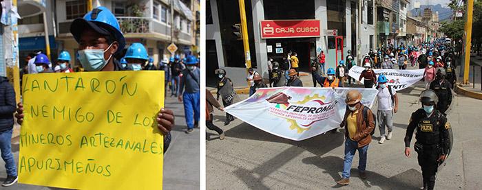 Mineros artesanales anuncian paro indefinido el 21 de junio tras fracasar diálogo con gobierno regional