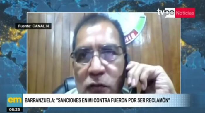 Ministro Barranzuela: sanciones en mi contra fueron por ser reclamón