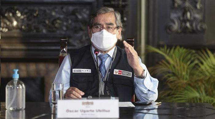 Ministro Ugarte: para julio se llegaría a vacunar al 61 % de la población