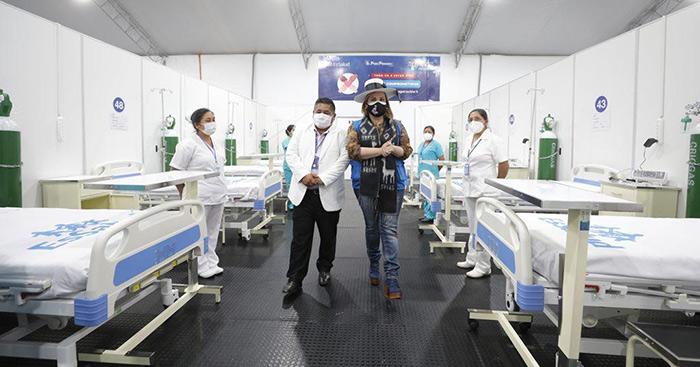 Presidenta de Essalud inauguró la nueva Villa de Apurímac y pidió prudencia pese a caída de contagios de Covid-19