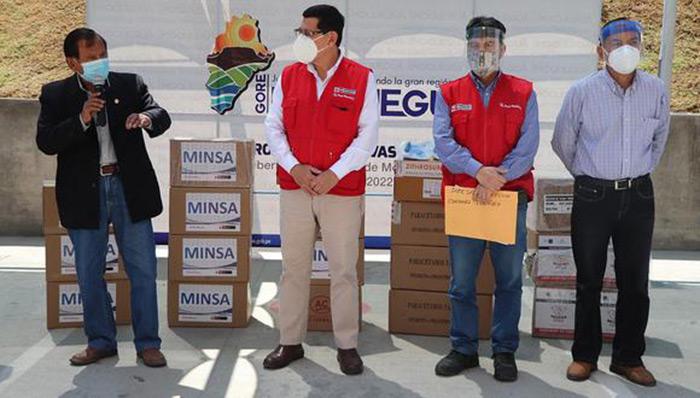 Moquegua: región recibió 50 ventiladores y kits de medicamentos