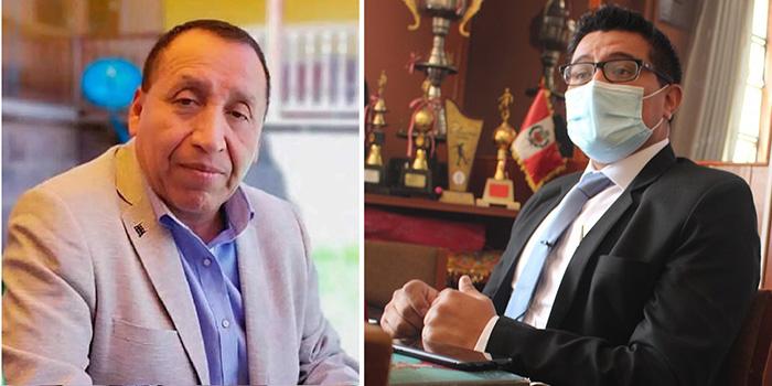 Baltazar Lantarón firma resolución para volver a sentar a Julio Rosario González en la Diresa