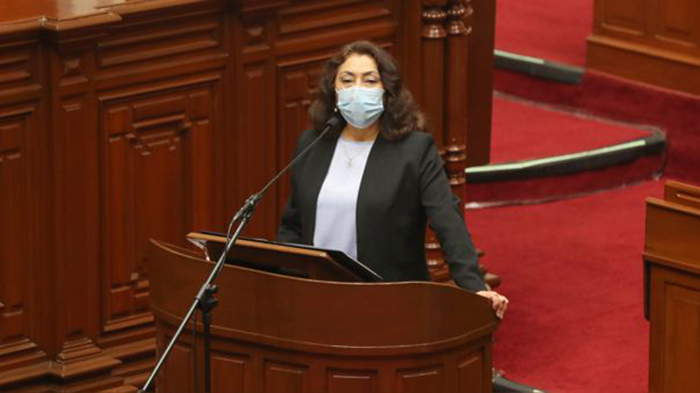 Pleno del Congreso otorgó el voto de confianza al Gabinete de Violeta Bermúdez
