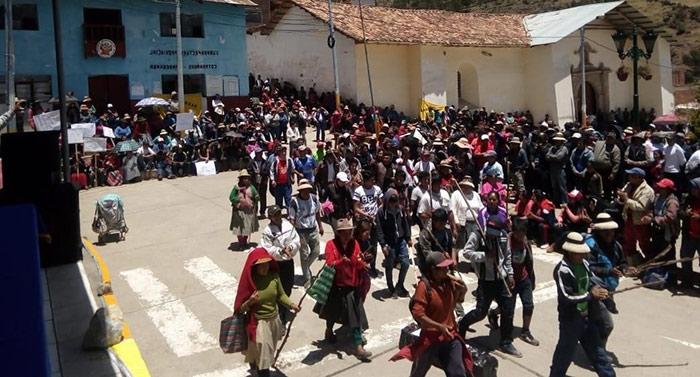 Tribunal Constitucional admite habeas corpus contra declaratorias de estado de emergencia en Cotabambas