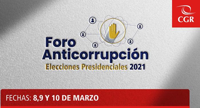 Elecciones 2021: candidatos presidenciales expondrán propuestas en lucha contra corrupción