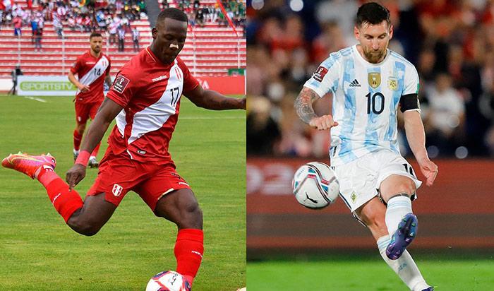 Perú vs. Argentina: día, hora y canal del partido por las Eliminatorias Qatar 2022