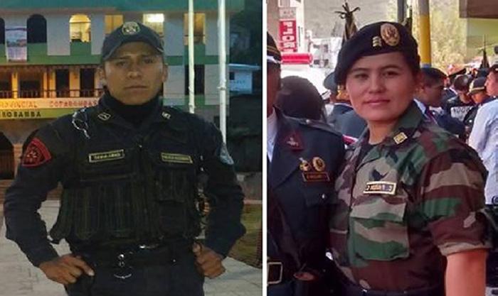 Dos policías condenados a ocho años de cárcel por lavado de activos en Apurímac
