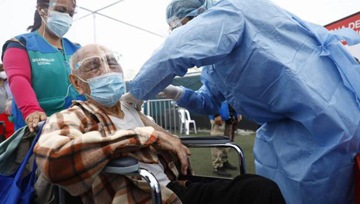 COVID-19: más de un millón 130 mil peruanos fueron vacunados contra el coronavirus