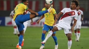 Perú cayó 2-0 frente a Brasil y se estanca en el séptimo puesto