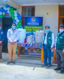 Inauguran posta de inseminación artificial en Pacucha.