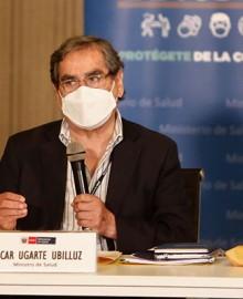 """Óscar Ugarte: """"Personas que fueron vacunadas por fuera del estudio son 470″"""