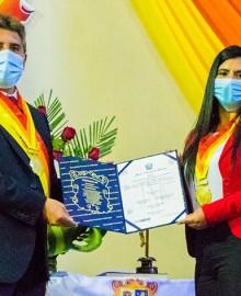 Médico Adler Malpartida juró como alcalde encargado de Andahuaylas