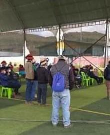 Con acuerdos concretos culmina reunión entre dirigentes de Challhuahuacho y empresa minera Las Bambas