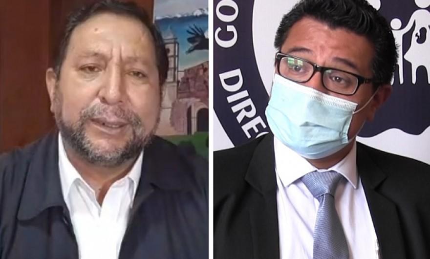 Declaran personas no gratas a gobernador Lantaron y al director de la Diresa Julio César Rosario por incapacidad para enfrentar emergencia covid-19