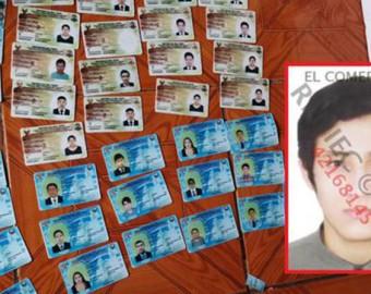 Ayacucho: hallan más de 280 licencias de conducir falsificadas en una vivienda