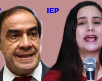 Yonhy Lescano y Verónica Mendoza encabezan las encuestas por IEP