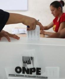 La ONPE dará bono de 120 soles a miembros de mesa en Elecciones 2021