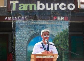 Ministro de Cultura participó en conmemoración de los 240 años de inmolación de Micaela Bastidas en Tamburco